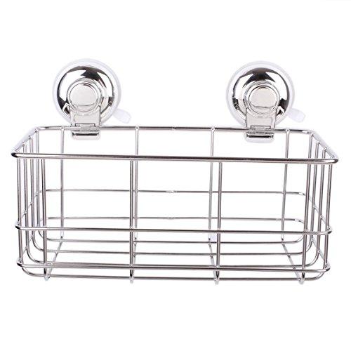 shelf storage rustproof stainless steel shower caddy bath. Black Bedroom Furniture Sets. Home Design Ideas