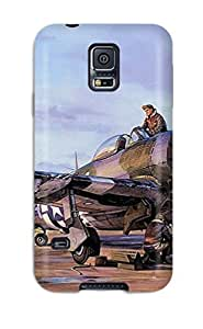 Awesome Case Cover/galaxy S5 Defender Case Cover(p-47 Thunderbolt)