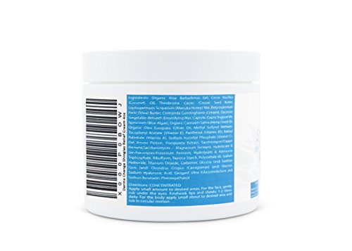 Organic Shingles Symptoms Cream - Honey Body Recovery Cream - Nerve Relief Treatment - Relieve Itchy Dry Skin - in USA