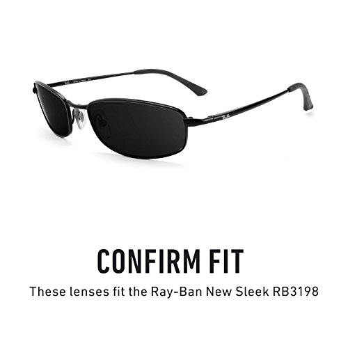 múltiples Ray Sleek Lentes — Elite Adapt Fotocromático RB3198 Opciones repuesto para de New Gris Ban Yqaxt4avnT