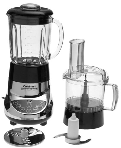 Cuisinart BFP-703CH SmartPower Duet Blender and Food Processor, Chrome DISCONTINUED BY MANUFACTURER