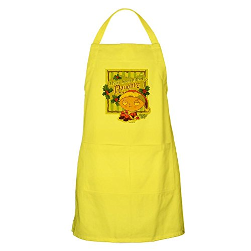 CafePress Naughty Apron - Standard Lemon