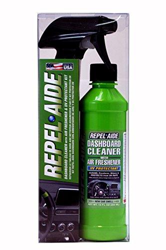 Repel-Aide 8701 Dashboard Cleaner Kit Fresh Vanilla Scent, 12 oz.