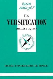 La versification, Aquien, Michèle