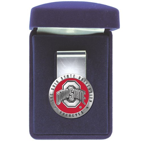 Ohio State Buckeyes Red Money Clip