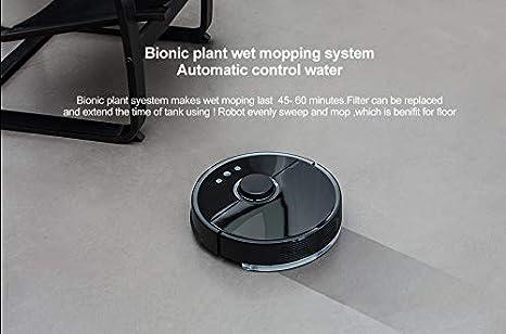 Roborock S55 Robot Aspirador 2 Sweep-Mop Auto-Recarga App Control Smart planificada 5200Am 2000Pa Negro: Amazon.es: Hogar