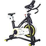 pooboo Indoor Cycling Bike, Pro Belt Drive Exercise Bikes Stationary Bike for Home