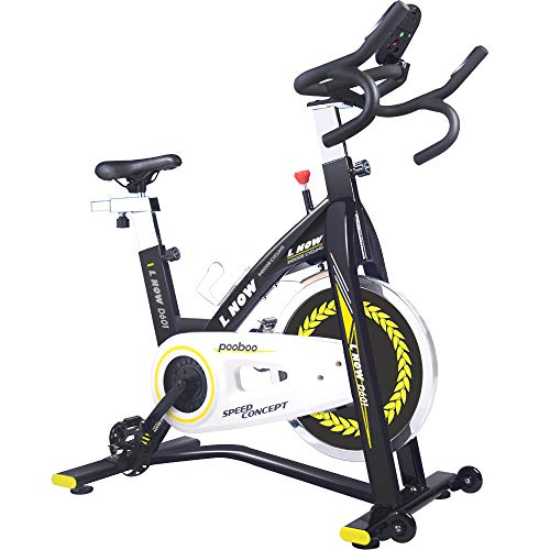 pooboo Indoor Cycling Bike, Pro Belt Drive Exercise Bikes Stationary Bike for Home Cardio Gym Workout