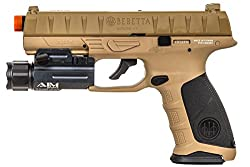 Elite Force Beretta APX CO2 Blowback Pistol Airsoft Gun (FDE)