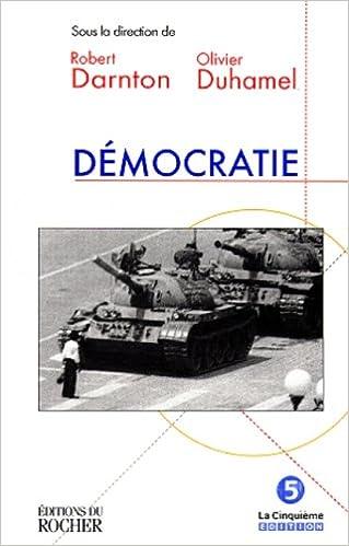 Couverture de Democratie