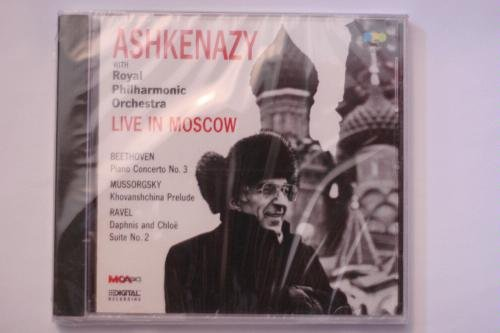 Ashkenazy Live in Moscow - Beethoven Piano Concerto No 3, Mussorgsky Khovanshchina Prelude; Ravel Daphnis and Chloe Suite No 2 by Universal Music & VI