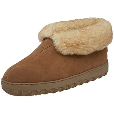 Tamarac by Slippers International Men's 8010MW Highlander Shearling Slipper, All Spice, 7 M