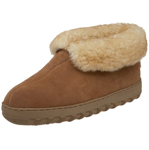 Tamarac by Slippers International Men's 8010MW Highlander Shearling Slipper, All Spice, 11 M (Minion Men Slippers)