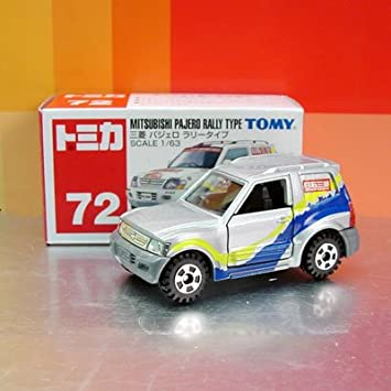 Tomy Tomica #72 MITSUBISHI PAJERO (SHOGUN) RALLY TYPE: Amazon co uk