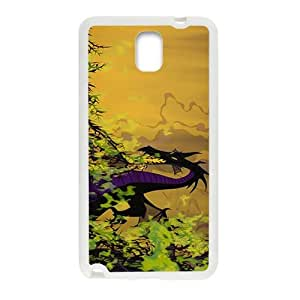 Happy Sleeping beauty disney Case Cover For samsung galaxy Note3 Case