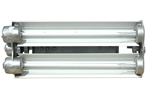Larson Electronics 1218OXN2PFS Class 1 & Class 2 Division 1 Explosion Proof UV Fluorescent Light - Two' Two lamp (UVA-Pendant) ()