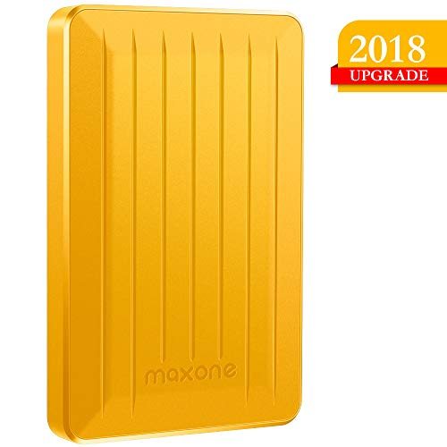 320GB Portable External Hard Drive- 2.5 Inch External Hard Drives for Laptop,Desktop,Xbox one,PS4,Wii U,MacBook,Chromebook (320GB, Blue) … (320GB, Yellow)