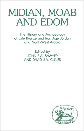 Midian, Moab and Edom: The History and Archaeology of Late Bronze and Iron Age Jordan and North-West Arabia (Journal for the Study of the Old Testament, Supplement Series, No. 24)