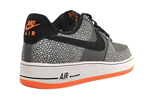 ... Nike Air Force 1 Menn Sko Mørk Grå / Svart-total Oransje 488298-079 ...