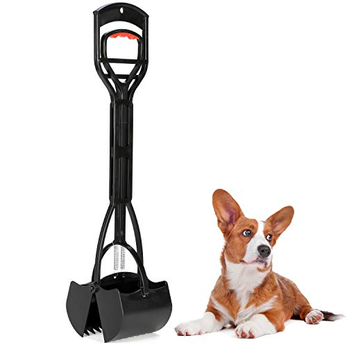 (Dogit Jawz Waste Scoop, Dog Pooper Scooper for Easy Grass and Gravel Pick Up)