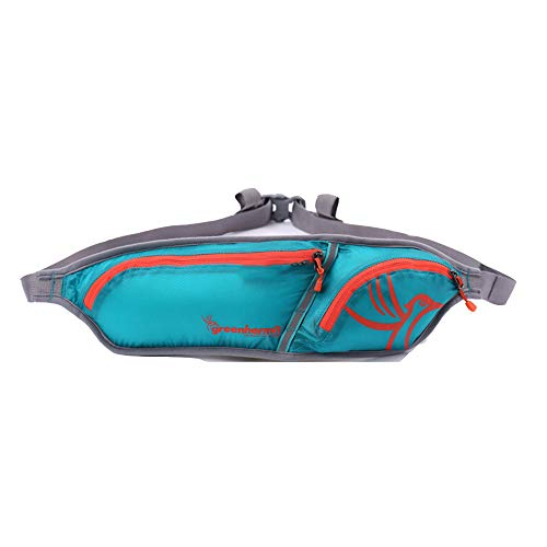 Belt Fitness Lightweight Reflective Blue Outdoor Close story Multi layer fitting Waterproof Double qfTZWxCW
