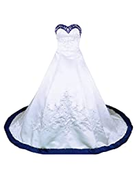 RohmBridal Sweetheart A-line Wedding Dress Bridal Gown