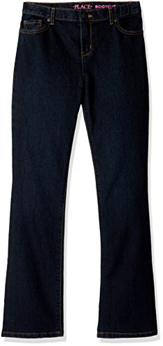 The Children's Place Big Girls' Bootcut Jeans, Odyssey 50100, 16 Plus ()