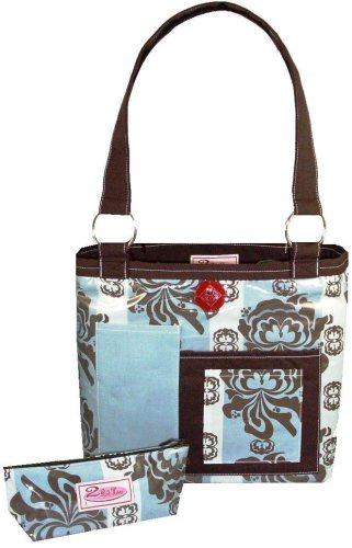2 Red Hens Rooster Seymore Diaper Bag ()