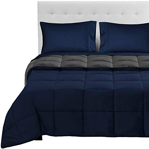 Bare Home Reversible Bed-in-A-Bag 5 Piece Comforter &