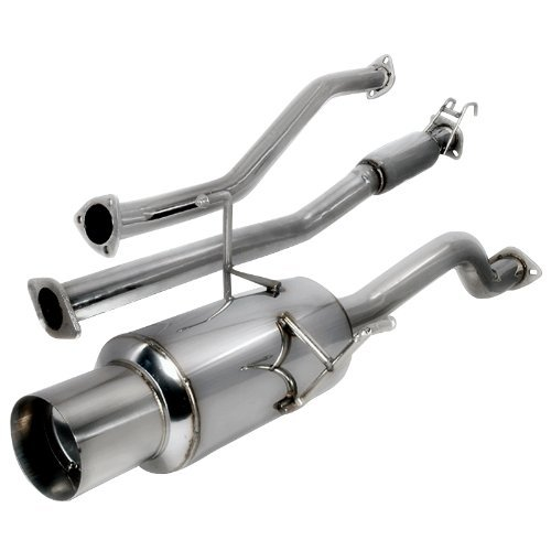 Spec-D Tuning MFCAT2-CV01 Honda Civic 2 4 Dr Ex Model Catback Exhaust System 02 03 04