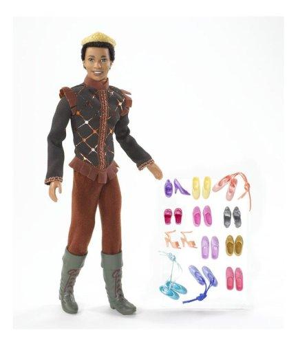 Barbie in The 12 Dancing Princesses Prince Derek Doll African -