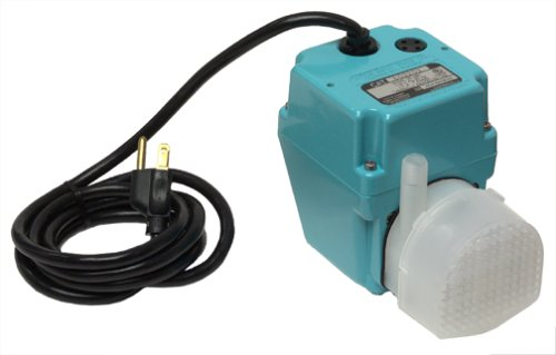 Little Giant 2E-38N (502203) Submersible or In-Line Pump, 115V, 1/40HP, 6' cord