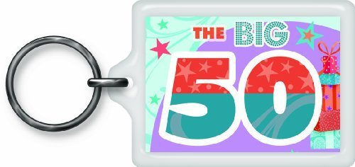 Price comparison product image The Big 50 Sentimental Keyring...