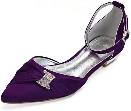 Lianyunneiyi Womens Comfort Shoes Satin Spring Summer Wedding