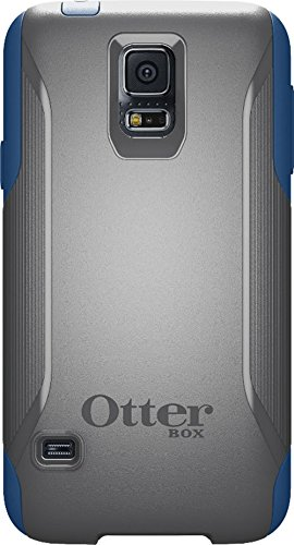 best sneakers fe0a3 29dff Otterbox Commuter Series Wallet Case for Samsung Galaxy S5 - Retail  Packaging - Blueprint (SLATE GREY/DEEP WATER BLUE)