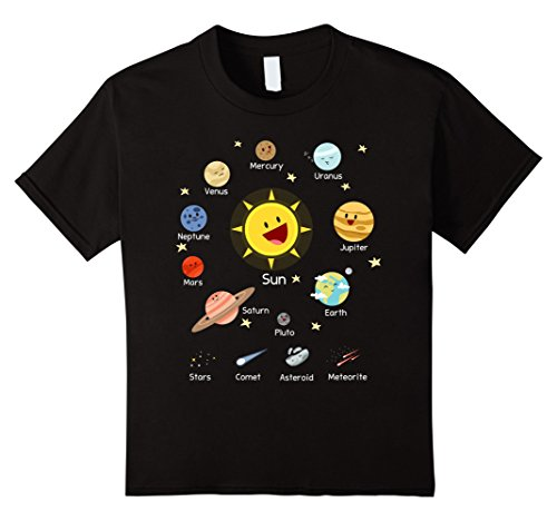 Kids Solar System with Sun, Planets, Comets and Earth T S...