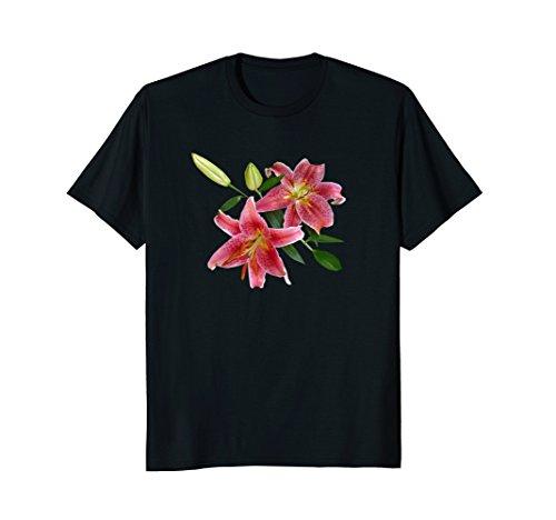 Stargazer Lily TShirt Great for Gardeners Flower Lovers Gift