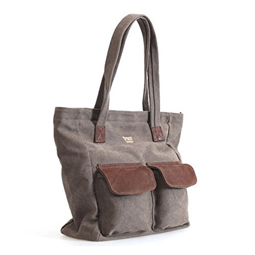 new-troop-london-k-530nt-shopper-bag-leather-canvas-fabric-lightly-water-proof