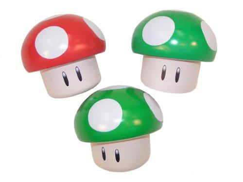 Nintendo Mushroom Sours, Pack of 3 (Super Mario Bros Mushroom)