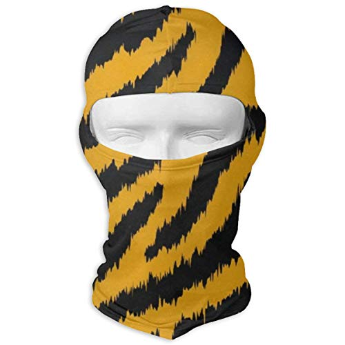 Balaclava Tiger Stripe Full Face Masks UV Protection Ski Hat Womens Headcover for Cycling