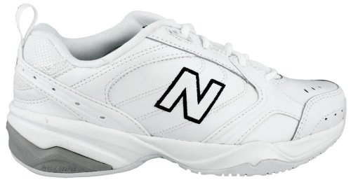New Balance Women's WX624v2 Training Shoe, White, 8.5 B (624 Series)