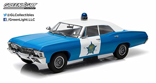 GreenLight Collectibles Artisan Collection 1967 Chevrolet Biscayne City of CPD Vehicle (1:18 Scale) - Biscayne Collection