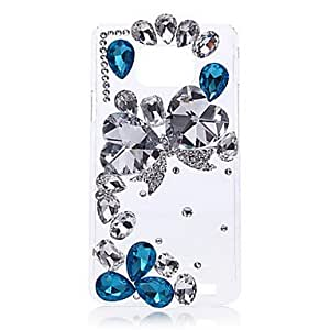 Heteromorphism Two Peach Heart Back Case for Samsung Galaxy S2 I9100