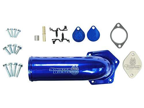 Sinister Diesel EGR Kit for 2008-2010 Ford Powerstroke 6.4L w/High Flow Intake Elbow