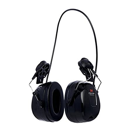3M Peltor WorkTunes Pro FM Radio Headset Black, 32 dB, Battery Powered – Hearing protection with FM radio function for an improved work experience - 1x Peltro headset in black HRXS220A