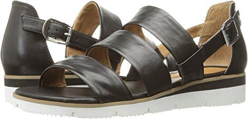 Corso Como Women's Marisol Flat Sandal, Black Silk Nappa, 7.5 US/7.5 M US