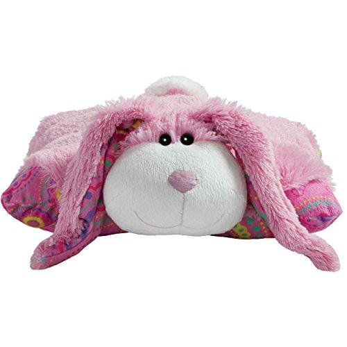 "41X3cc xt L - Pillow Pets Springtime Pink Bunny, 18"" Stuffed Animal Plush Toy"