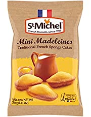 St Michel Mini Madeleines, Traditional French Sponge Cakes, 250g