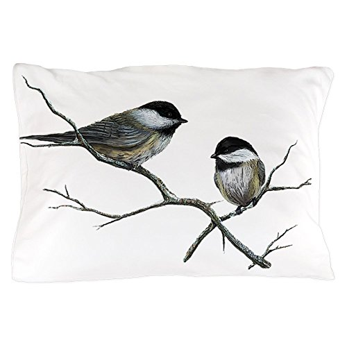 Chickadee Blend - CafePress Chickadee Song Birds Standard Size Pillow Case, 20
