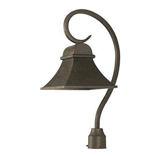 - World Imports 61305-06 Dark Sky Revere Collection Outdoor Post Light, Flemish